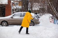 Последствия снежного циклона в Туле, Фото: 41