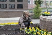 Евгений Авилов проинспектировал ход работ по благоустройству. 23 апреля 2016 года, Фото: 2