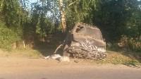 ДТП в Скуратово: BMW на дереве, Фото: 1