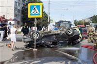 ДТП на перекрестке улиц Ложевой и Калинина, Фото: 11