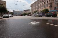 Возле роддома в центре Тулы забил фонтан, Фото: 6