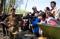 В Центральном парке воссоздали боевой подвиг советских солдат, Фото: 6