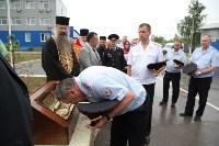 Сотрудники ОМОН поклонились мощам святого великомученика Георгия Победоносца, Фото: 25