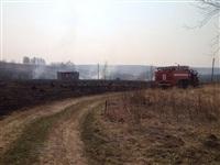В Ленинском районе из-за горящей травы сгорела дача, Фото: 2