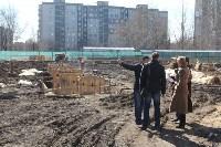 Строительство городского центра художественной гимнастики. 5 апреля 2016 года, Фото: 4