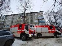 В пятиэтажке на ул. Маршала Жукова в Туле сгорела квартира, Фото: 4