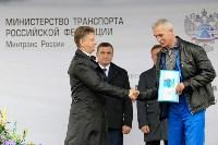 В Суворовском районе  введен в эксплуатацию участок автодороги «Калуга-Перемышль-Белёв-Орёл», Фото: 18