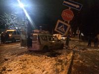 В Туле внедорожник протаранил такси: пассажир погиб, Фото: 1