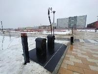 На Казанской набережной впервые в Туле поставили подземную мусорную площадку, Фото: 7