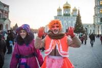 В Тульском кремле открылась новогодняя елка, Фото: 46