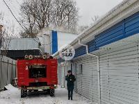 В Туле в переулке Тимирязева загорелся тир «Динамо», Фото: 5