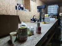 В Алексинском районе работал цех по производству поддельного алкоголя, Фото: 6