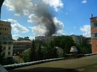 Пожар на на пересечении улиц Гоголевской и Свободы , Фото: 17