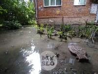 Дворы на Красноармейском проспекте затопило нечистотами, Фото: 18
