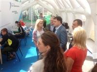 Владимир Груздев посетил Всероссийский образовательный форум «Селигер-2013», Фото: 3