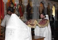 Пасхальная служба в Успенском соборе. 20.04.2014, Фото: 12