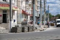 На ул. Советской меняют тротуарную плитку, Фото: 4