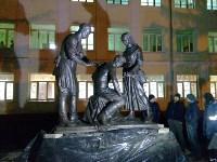 Возле гимназии №20 установили памятник военным врачам и медсестрам, Фото: 3