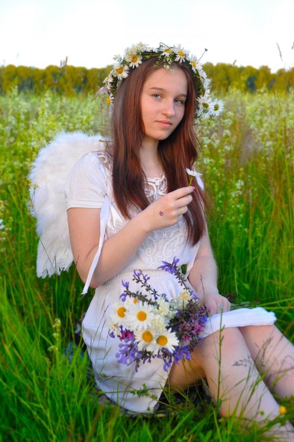 Ромашковый ангел