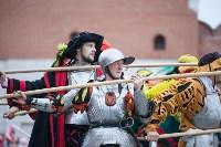 Средневековые маневры в Тульском кремле. 24 октября 2015, Фото: 47