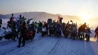 Мотороллер «Алексей Геннадьевич» из Тулы установил рекорд скорости на «Байкальской миле», Фото: 55