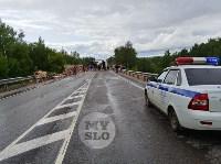 Жуткое ДТП на трассе под Тулой, Фото: 20
