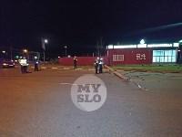 Крупное ДТП на ул. Металлургов в Туле: Nissan снес столб, пассажирку вышвырнуло из машины, Фото: 20