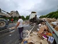 Жуткое ДТП на трассе под Тулой, Фото: 17