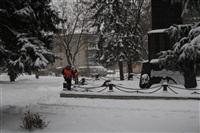 Расчистка тульских улиц коммунальными службами, Фото: 8