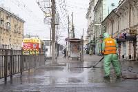 В Туле продолжается масштабная дезинфекция улиц, Фото: 7