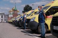 Тульским медикам передали 41 автомобиль , Фото: 15