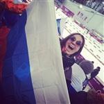 Тулячка Анна Бикбова поехала в Сочи болеть за Россию, Фото: 2