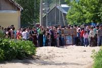 В Плеханово начали сносить дома в цыганском таборе, Фото: 106