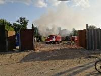 В Туле загорелось «кладбище» автомобилей, Фото: 9
