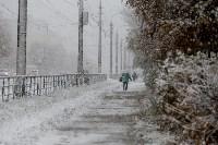 Первый снег в Туле, Фото: 2