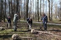 Посадка деревьев в Комсомольском парке, Фото: 20