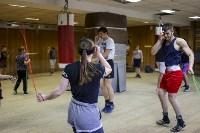 Женский бокс: тренировка , Фото: 7