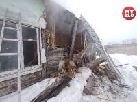 Пожар в пос. Петровский 20.02.19, Фото: 13