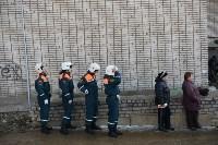 У дома, поврежденного взрывом в Ясногорске, демонтировали опасный угол стены, Фото: 27