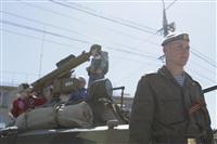Празднование 69-й годовщины победы в Великой Отечественной войне на площади Победы. Тула, Фото: 7