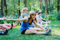 В Центральном парке прошла тренировка по пилатесу, Фото: 7