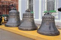 Торжественное освящение колоколов Успенского собора, Фото: 1