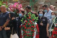 Жуткое ДТП в Суворове: проститься с погибшим полицейским пришли сотни человек, Фото: 13