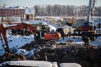 Новая коммунальная авария в Пролетарском округе, Фото: 21
