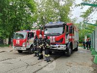 В Туле сотрудники МЧС эвакуировали госпитали госпиталь для больных коронавирусом, Фото: 71