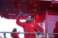 Третий этап эстафеты олимпийского огня: проспект Ленина, Фото: 10