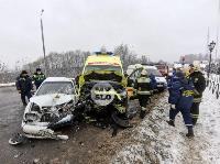 В Туле в ДТП со скорой пострадали три человека, Фото: 4