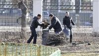 Субботник в Комсомольском парке с Владимиром Груздевым, 11.04.2014, Фото: 11