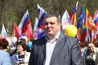 Тульская Федерация профсоюзов провела митинг и первомайское шествие. 1.05.2014, Фото: 75