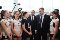 Врио губернатора Тульской области Алексей Дюмин посетил новомосковский ФОК «Мечта», Фото: 2